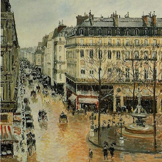 Rue Saint-Honoré, Afternoon, Rain Effect
