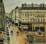 Rue Saint-Honor�, Afternoon, Rain Effect